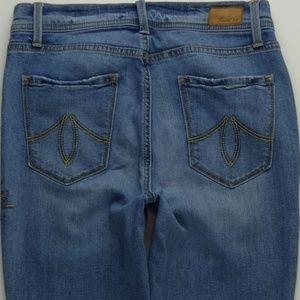 Level 99 Tanya Crop High Rise Jeans Women 27 A158J